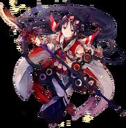 Valkyrie Ono no Komachi full render