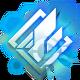 Azure Striker Gunvolt Badge Foil