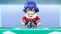 Kakeru about to B-Fire
