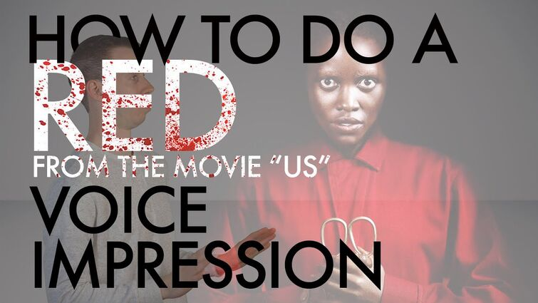 """""""How To Do A Red From Us Voice Impression"""" - Halloween Special - Voice Breakdown Ep. 26"""