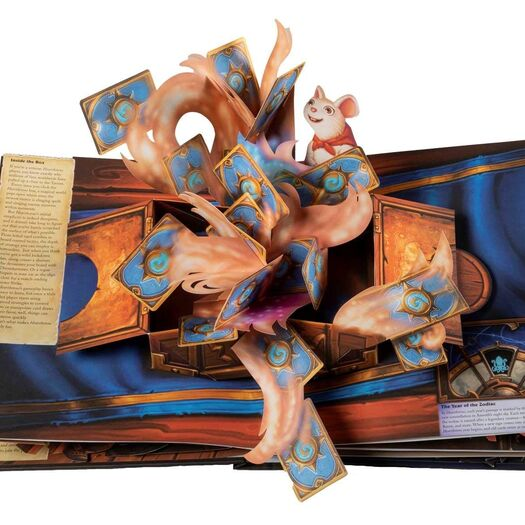 Blizzard to release Hearthstone pop-up book