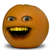 Annoying Orange and Luan Loud