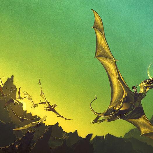 DRAGONRIDERS OF PERN Returns To Comic Books