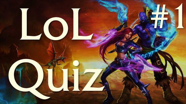 League of Legends Quiz #1   15 Questions   Nostalgic Theme