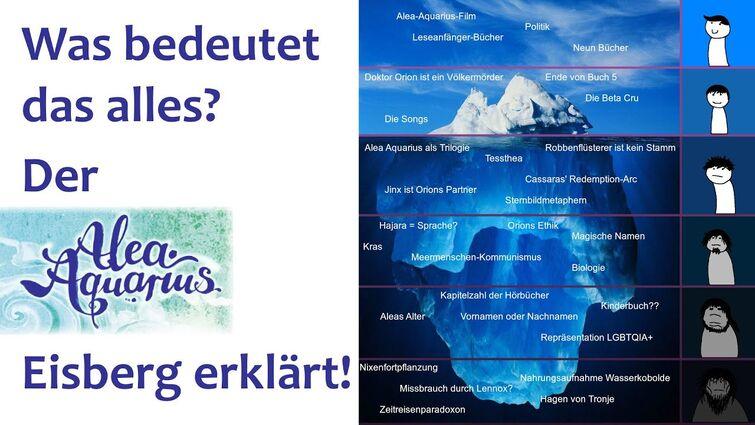 Der Alea Aquarius Eisberg Erklärt! (Trivia, Theorien und Analysen)