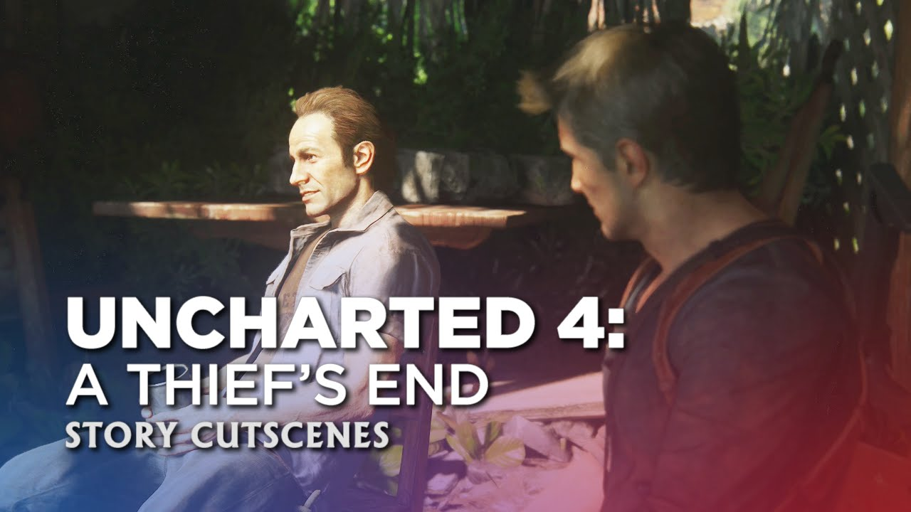 Uncharted 4: A Thief's End - Story Cutscenes - Part 46: Different Choices