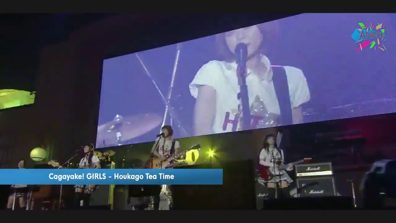 Cagayake Girls! - HTT (Houkago Tea Time) (K-ON! Live)