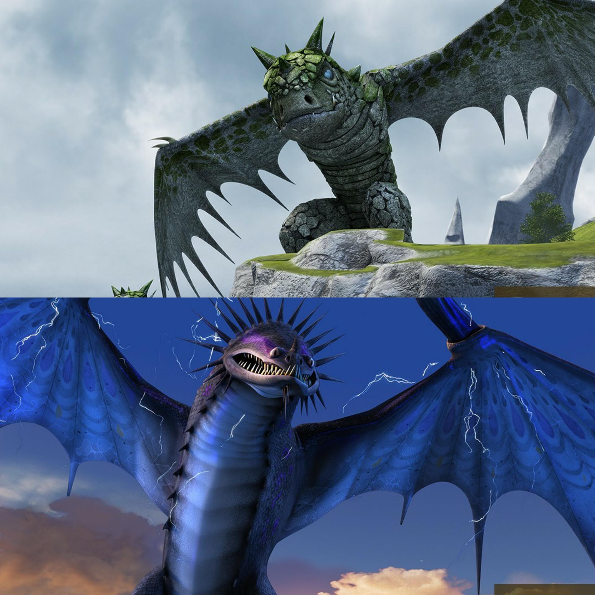 ¿Qué dragón os gusta más?