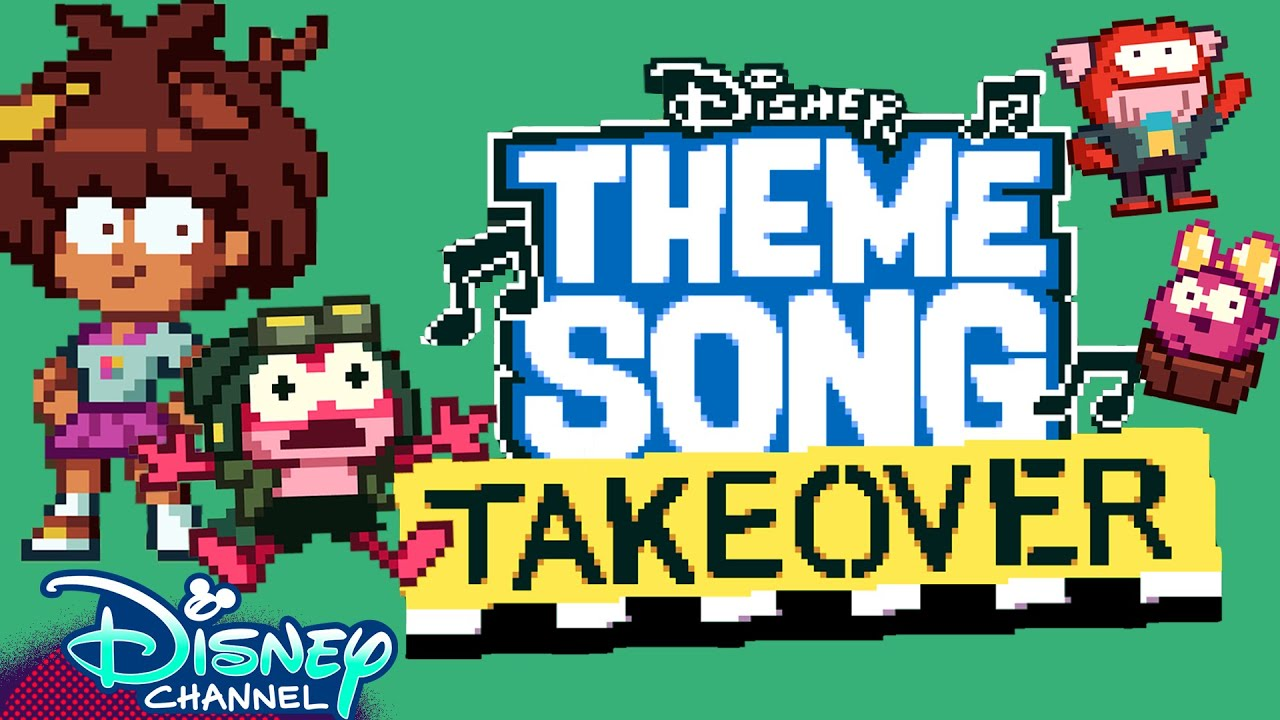 8-bit Theme Song Takeover | Amphibia | Disney Channel