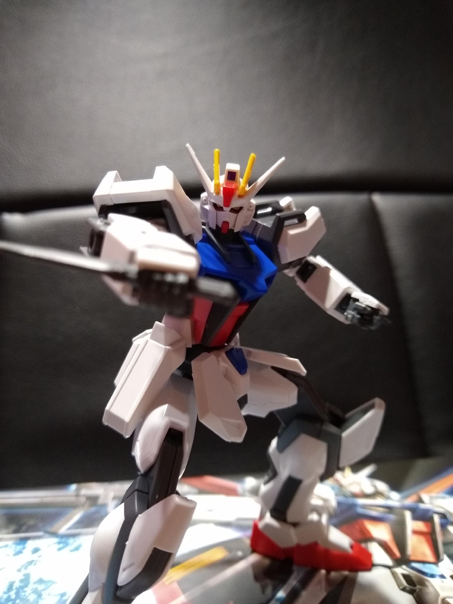 Just finished the HGCE aile strike gundam