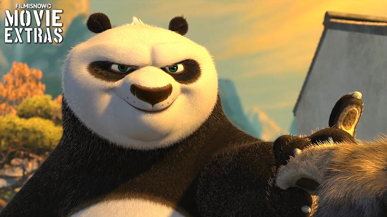 Kung Fu Panda 3 'Origin of Skadoosh' Featurette (2016)