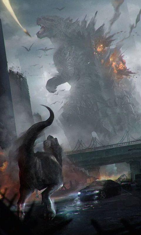 Que harían si de la nada dinosaurios y Kaijus aparecieran??