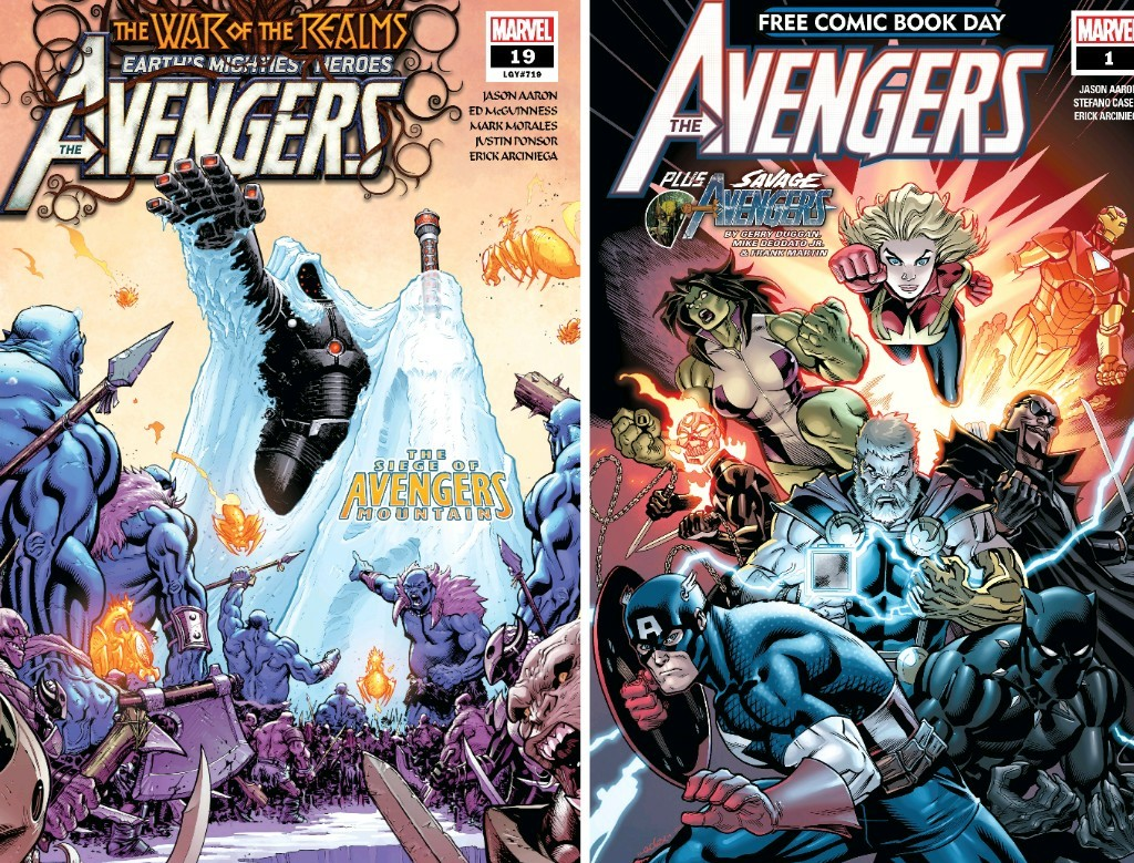 Comic Review#...Im Too Lazy To Check What Number Im On😉: Avengers!