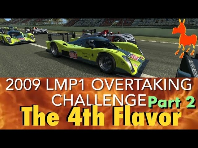 Real Racing 3 RR3 The 4th Flavor: 2009 LMP1 Overtaking Challenge Part 2