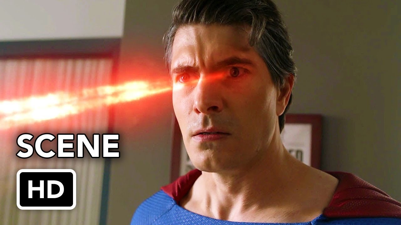 "CRISIS ON INFINITE EARTHS ""Superman Vs. Superman"" Clip [HD] Brandon Routh, Tyler Hoechlin"