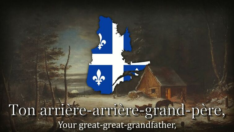 "[TRANSLATED] ""Dégénération"" - Quebecois Traditionalist Song"
