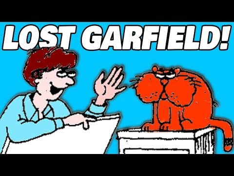 Finding Lost Garfield Comics