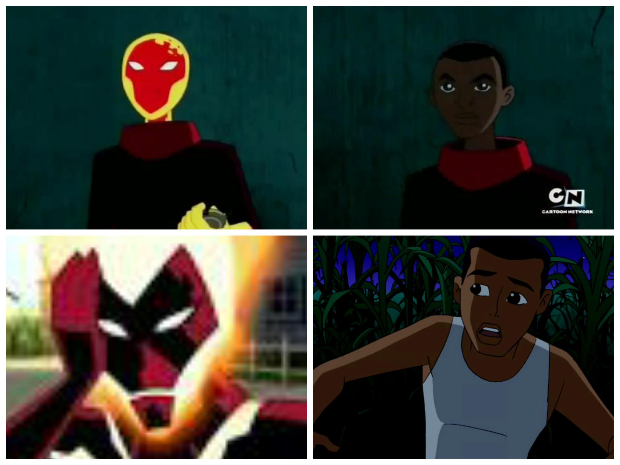 Sizce Teen Titans'daki Hot Spot ile Ben 10: Alien Force'daki Alan Albright birbirine benzemiyor mu?