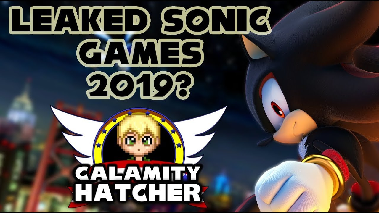 New Sonic Games Leaked For 2019?!