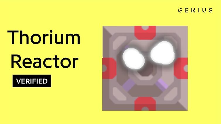"Thorium Reactor ""Boom"" Official Lyrics & Meaning | Verified"