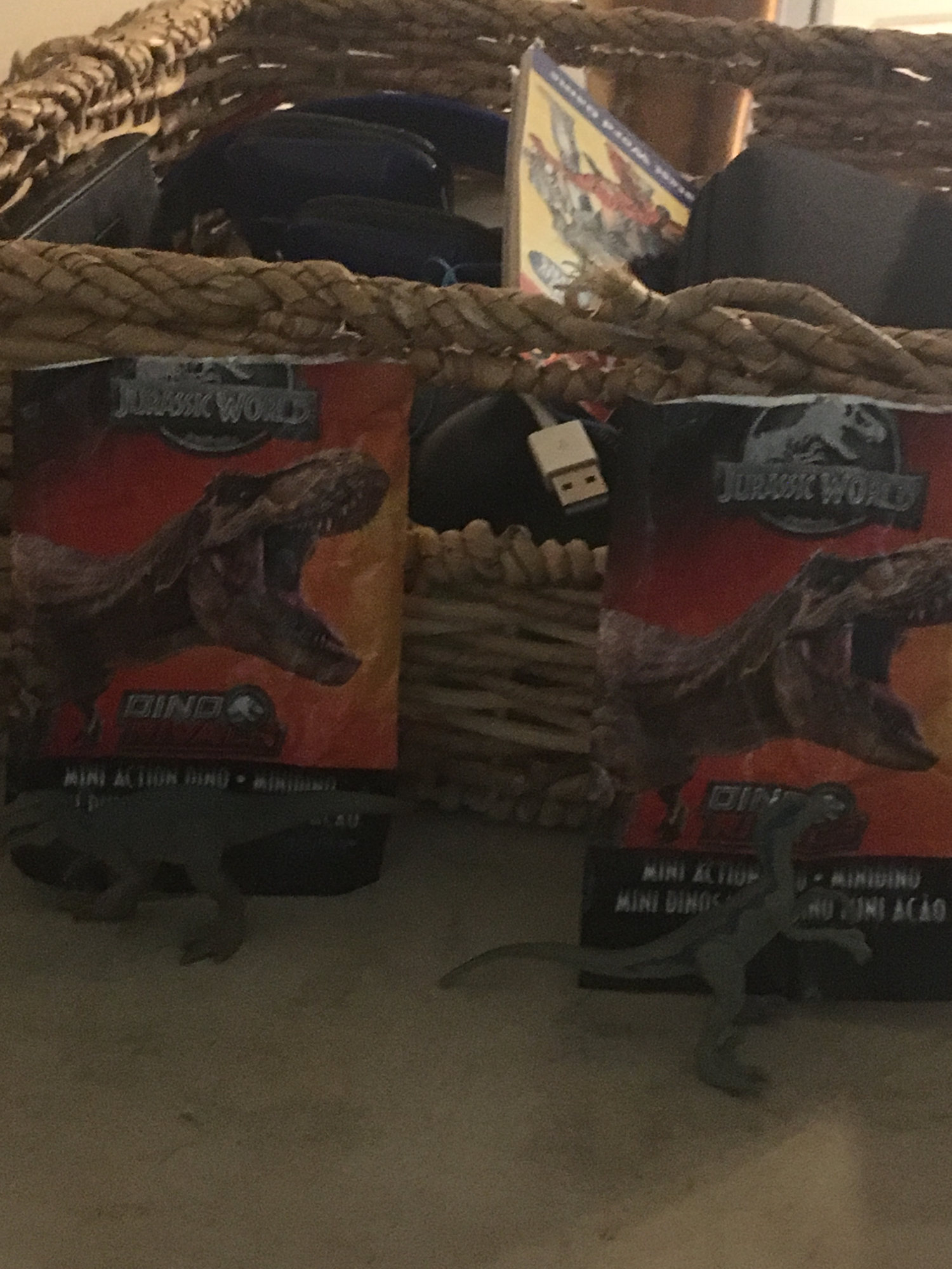 New figures out of mystery bags