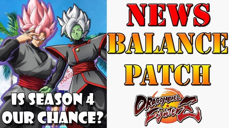 New Balance patch & System mechanics changes coming to Dragon Ball FighterZ! Season 4!?