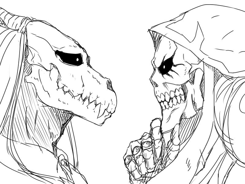 Ainz Ooal Gown vs Elias Ainsworth