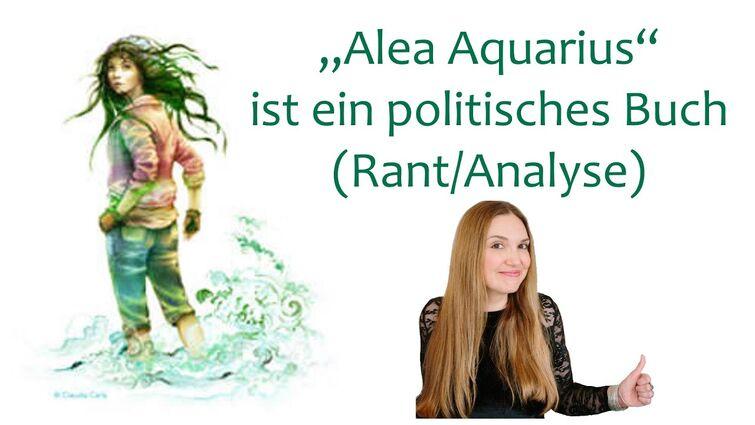 """""""Alea Aquarius"""" ist ein politisches Buch, und das macht alles kaputt."""