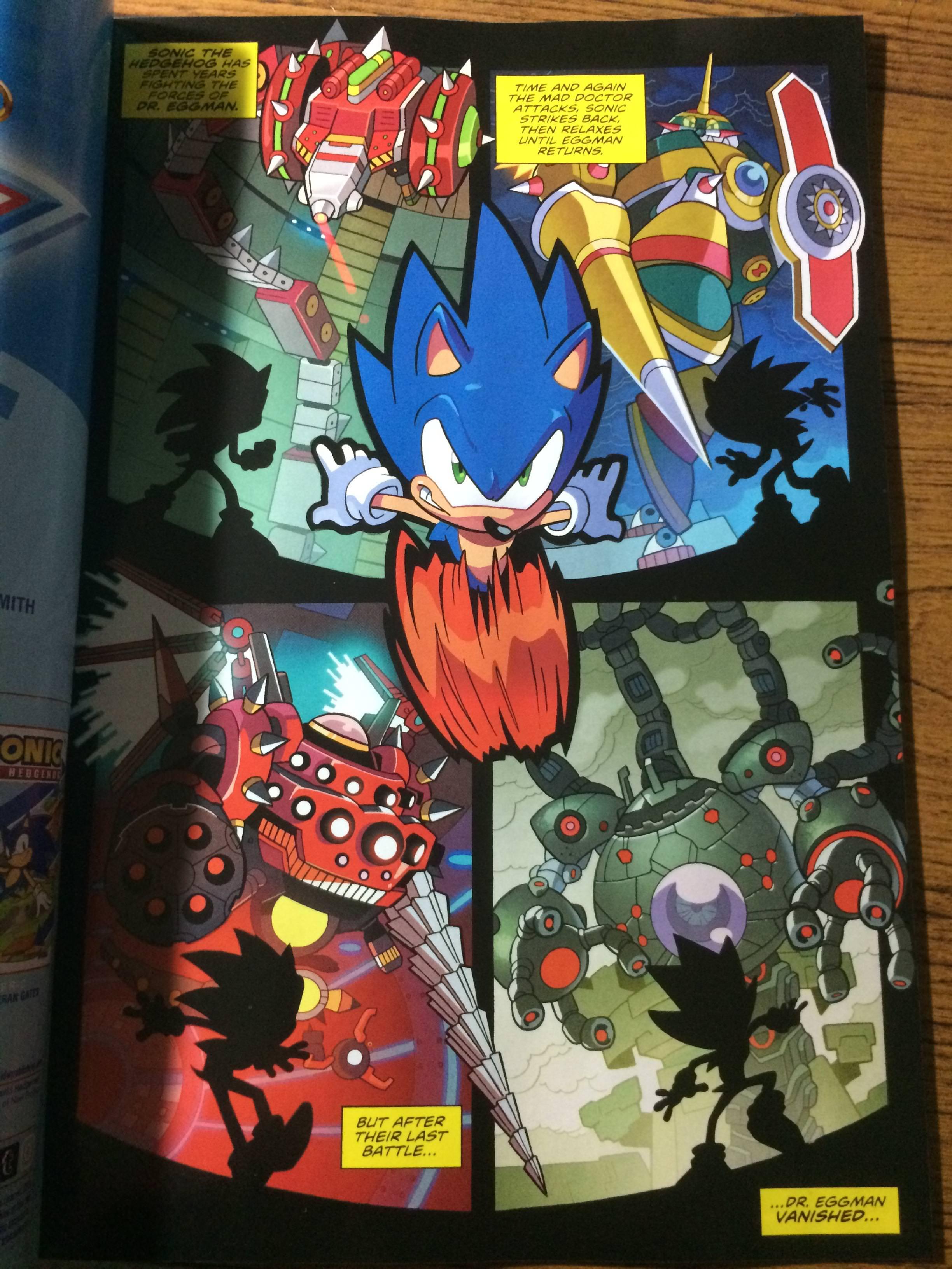 IDW Sonic #1 4chan leaks.