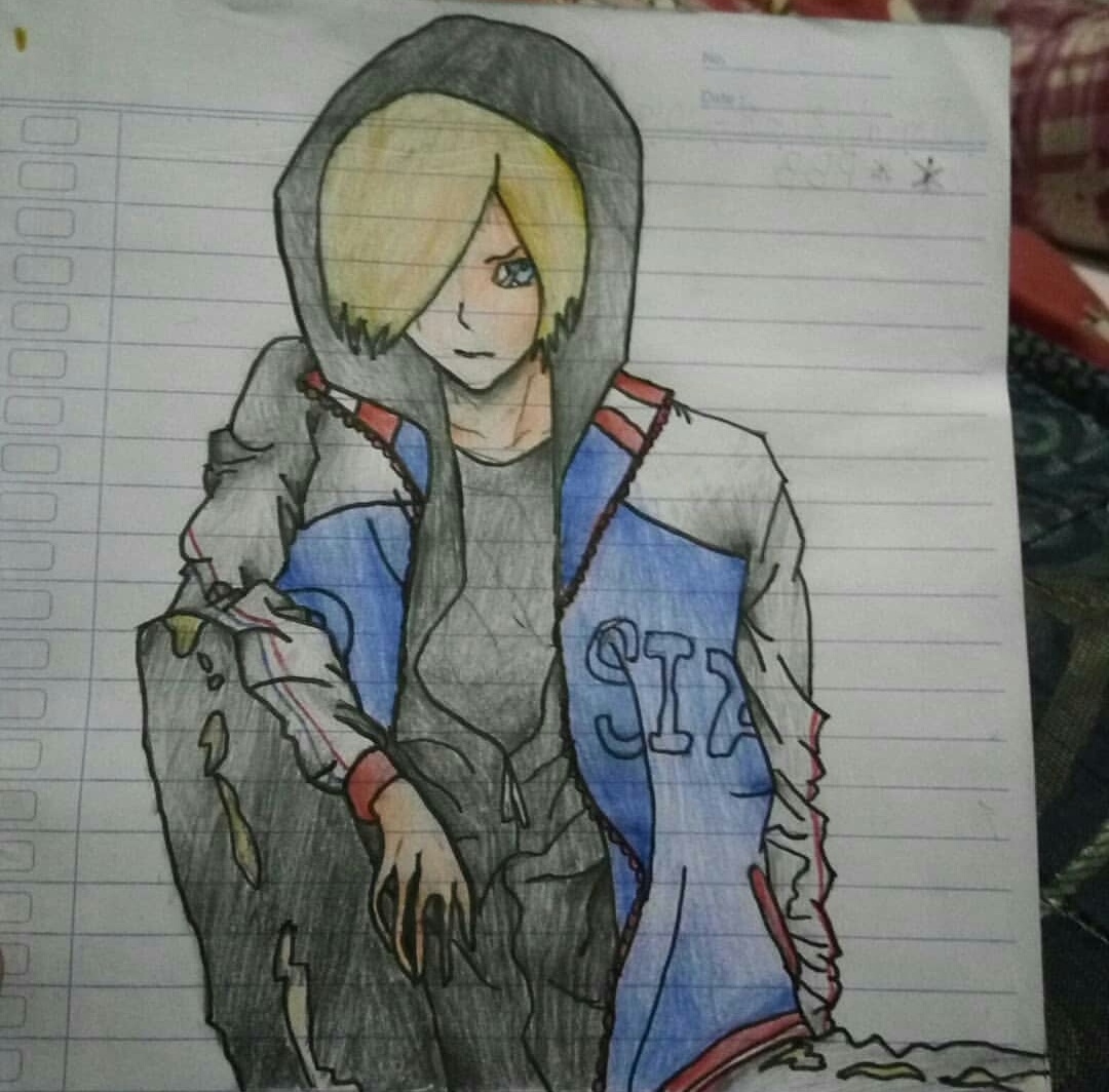 I just wanna share my drawing :v