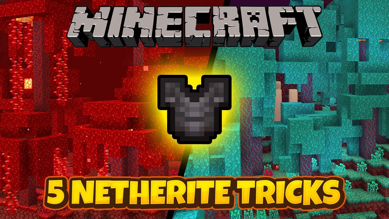 5 Minecraft Netherite Tricks Easy Trolls Pranks Fandom