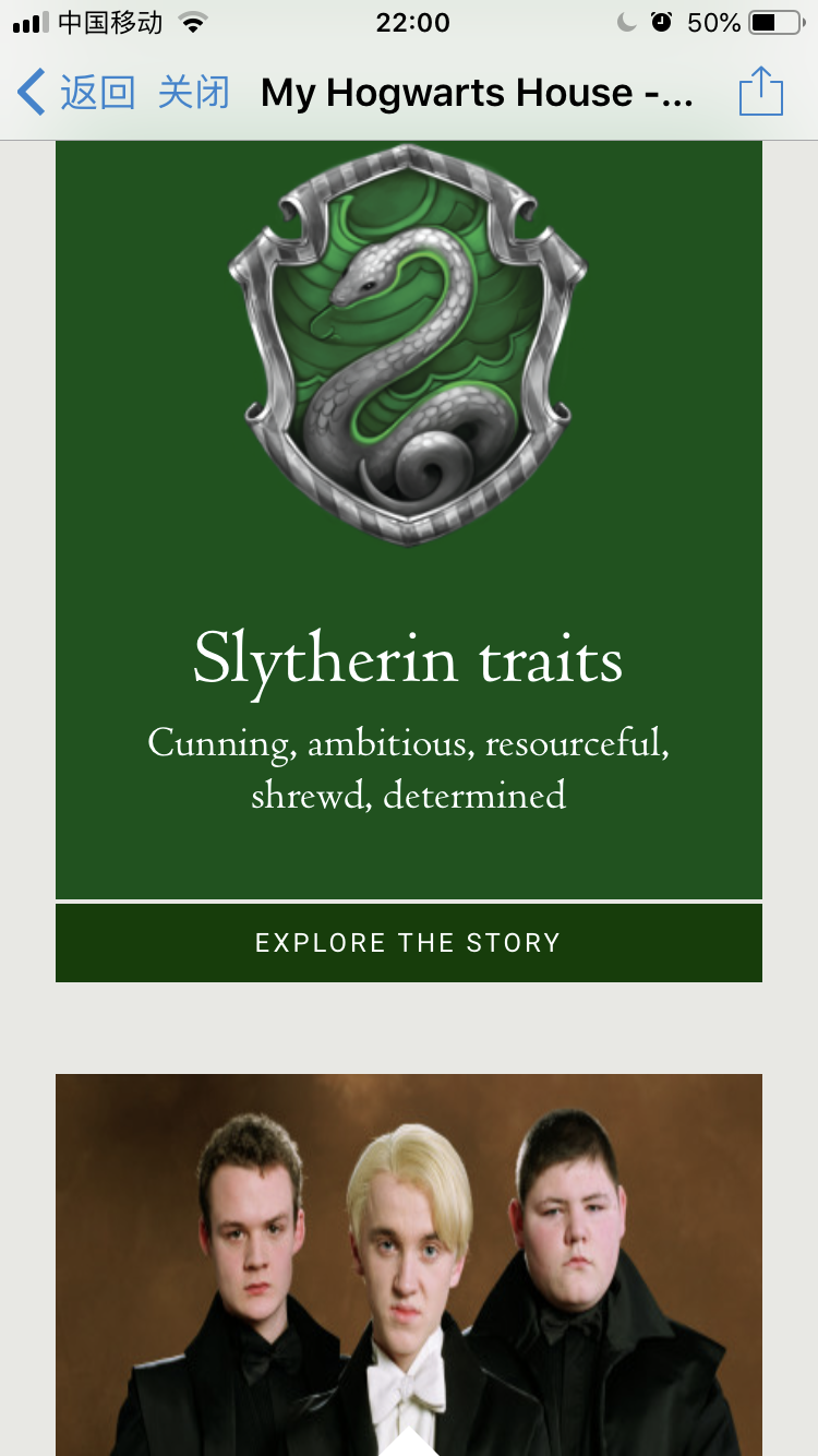 Slytherin!!!