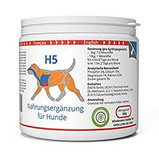 ww7 H5 | Transport & Kraft Formel Hunde | 300g natürlich Premium Granulat: Amazon.de: Haustier