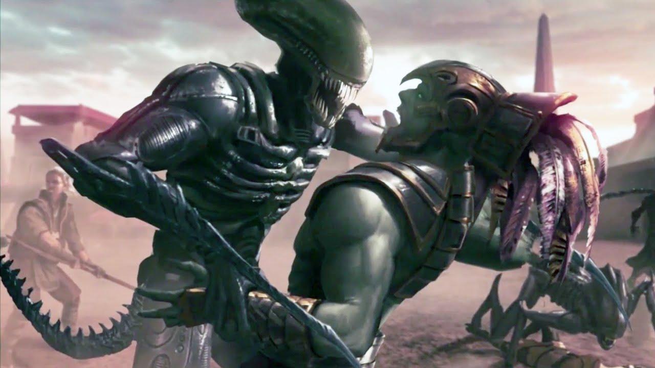 Mortal Kombat X Alien Ending