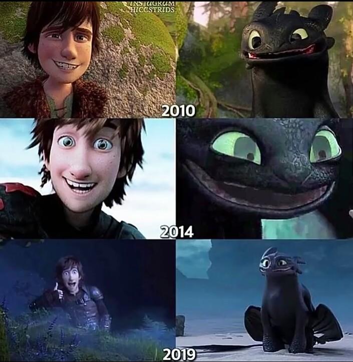 Evolución de la sonrisa