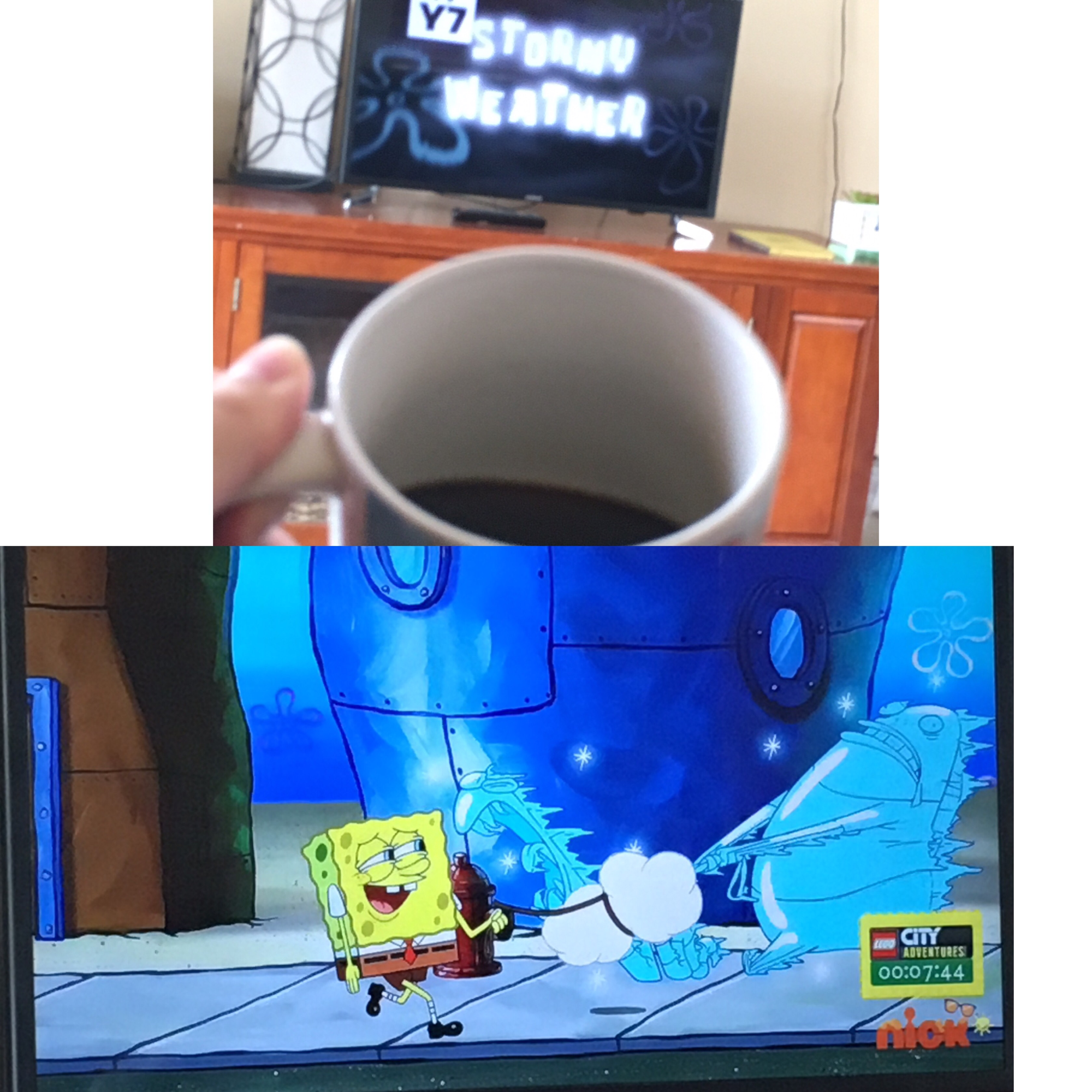 King Plankton/Stormy Weather