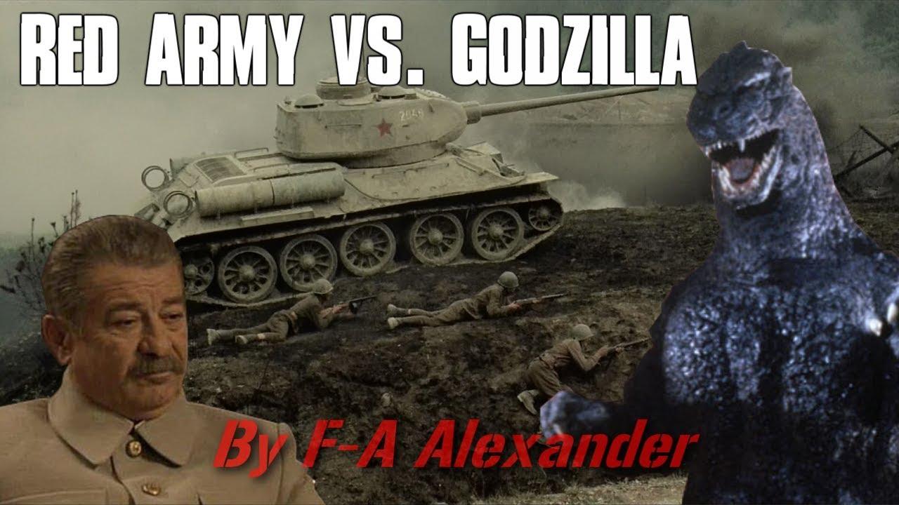 Stalin/Godzilla parody: Red Army vs. Godzilla
