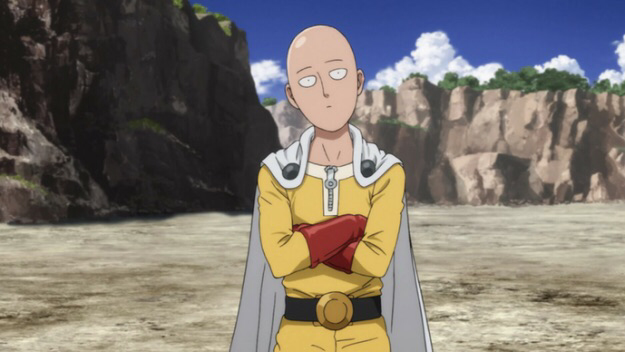 Love this imagery of the man #onepunchman