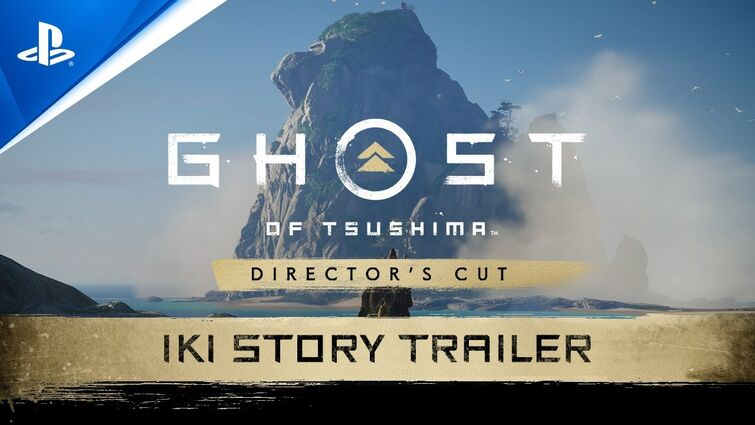 Ghost of Tsushima Director's Cut - Iki Island Trailer   PS5, PS4