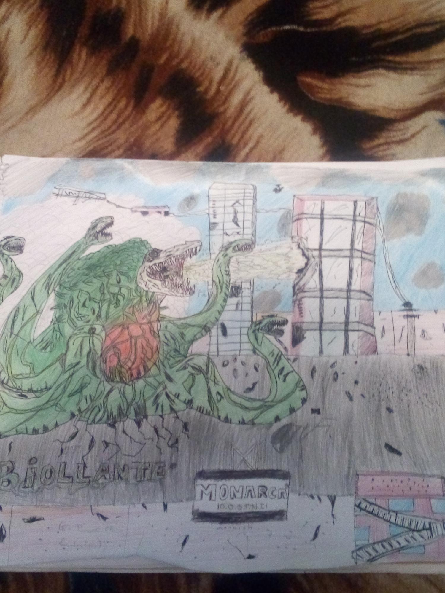 Mi dibujo de Biollante