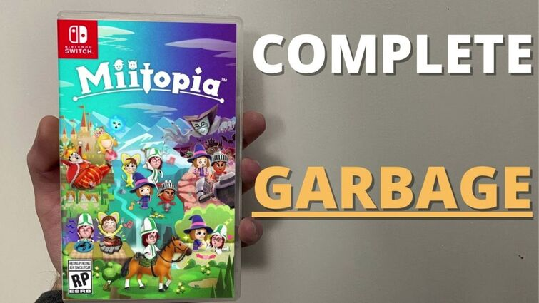 MIITOPIA  SWITCH IS AWFUL - DO NOT BUY - GARBAGE GAME - REVIEW