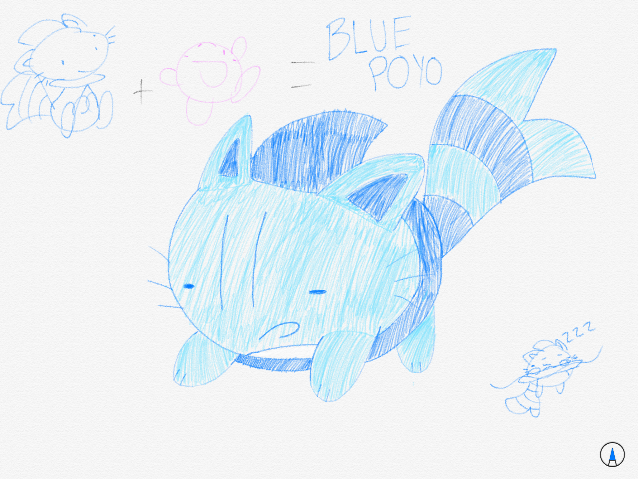 Blue as a POYO, because why not?
