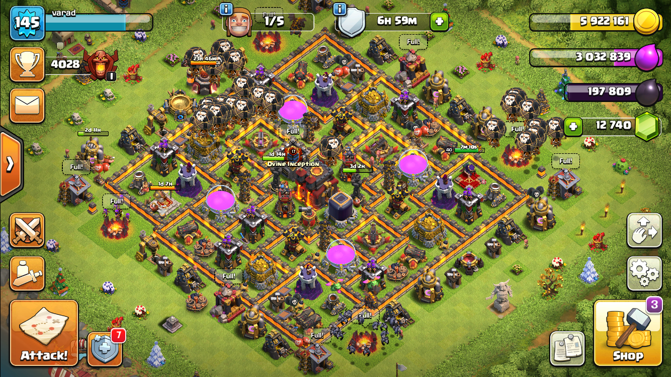 SOMEONE PLZ SEND SOME TH10 GOOD BASE LAYOUT LINKS    The new