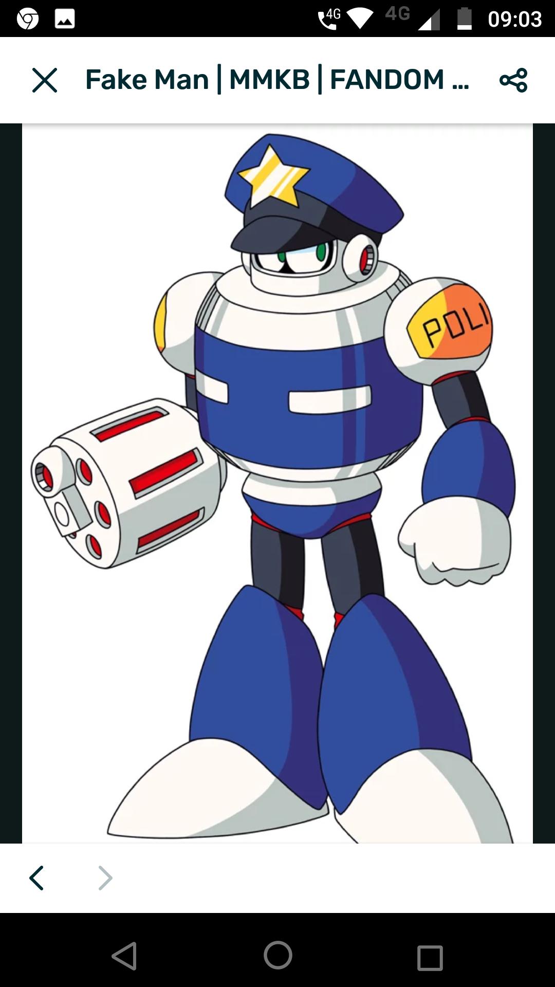 Daily robot master post fake man