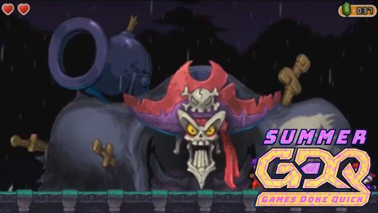Shantae and the Pirate's Curse of Tinahacks v JTNoriMaki in 1:05:18 - SGDQ2018