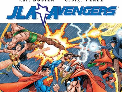 JLA The Avengers United They Stand