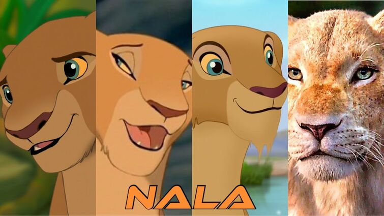 Nala (The Lion King)   Evolution In Movies & TV (1994 - 2019)