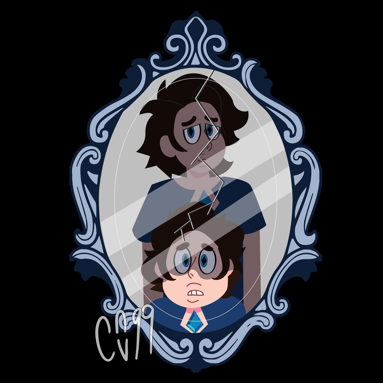 Steven as Blue Diamond