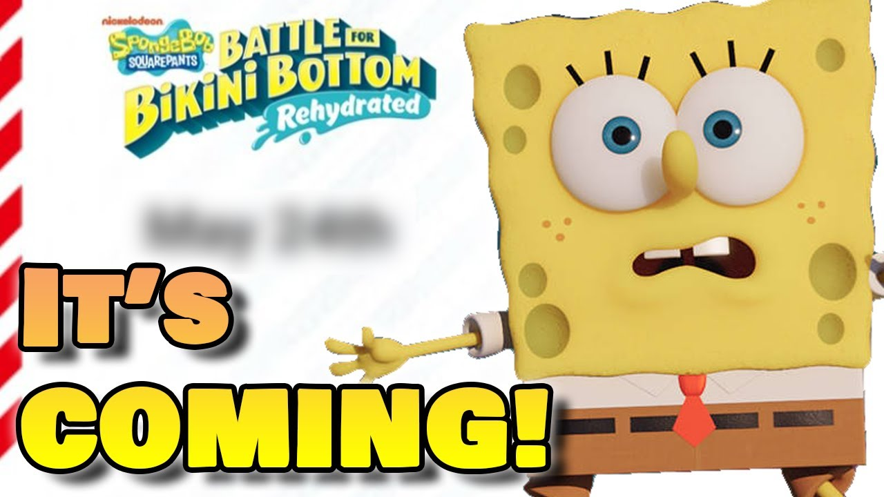 Nintendo LEAKS Battle For Bikini Bottom Rehydrated Release Date?! | RidersDX