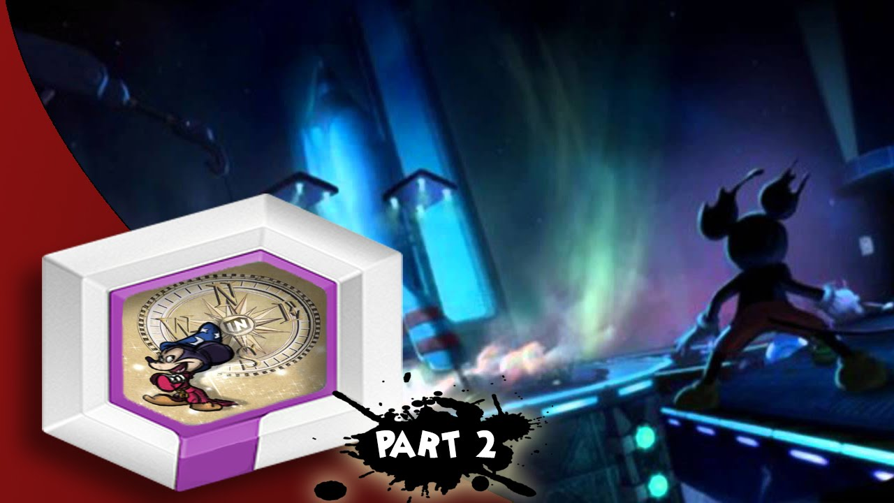 Epic Mickey-Disney Infinity 3.0 Toybox Part 2